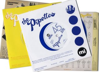 The Pipettes 45s
