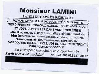 Monsieur Lamini