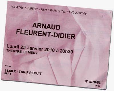 Arnaud Fleurent Didier au Mery